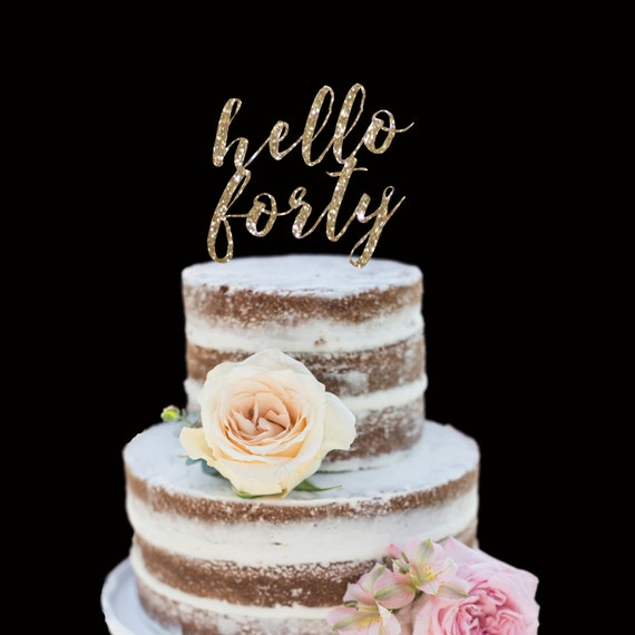 How To Make A Cake Topper Fifty