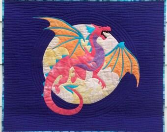 Dastardly Dragon Appliqué Pattern