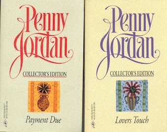 Penny Jordan Novels - (Two Paperbacks)