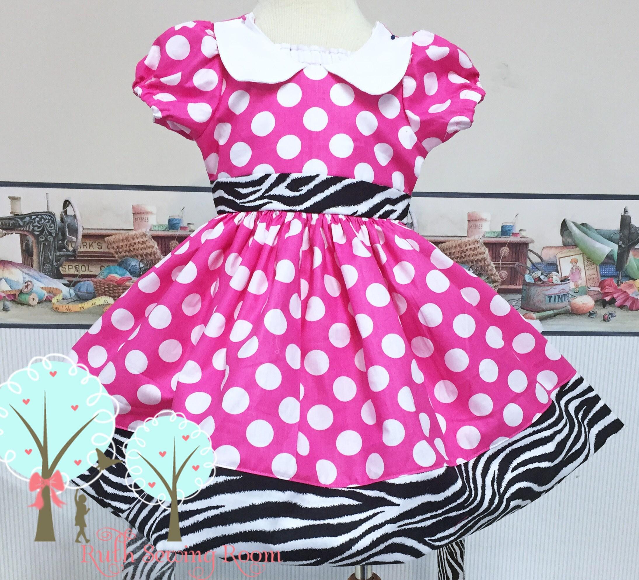 Vestido de Mickey Safari Safari de Minnie vestido Wild