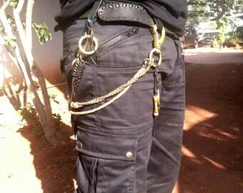 Men's Cargo 3/4 Shorts, mens shorts, steampunk, psytrance goa pants