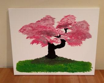 Pink Bonsai Tree