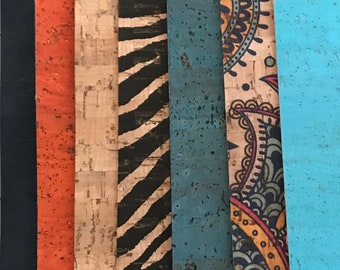 Cork Fabric - Cork Sample Packs - EcoFriendly - Made in Portugal