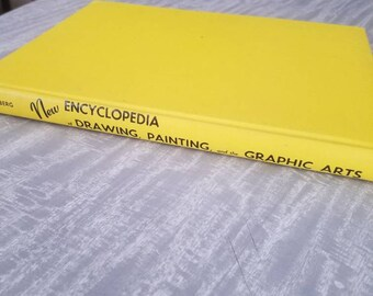 New Encyclopedia of Drawing,Painting, and the Graphic Arts by Arthur Zaidenberg.