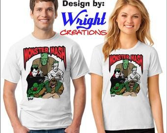 Monster Mash Men or Women's T-Shirt