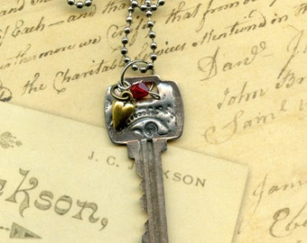 Key to Life Necklace - Love
