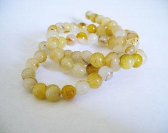 Golden Quartz  Beads Gemstone Round 6MM