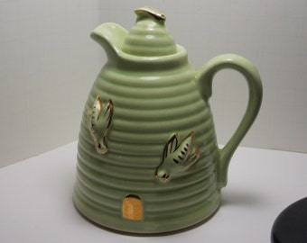 Vintage Mint Green Pitcher or Creamer