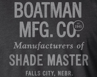 Advertising Shirt, Typography Shirt, Farm Shirt, Tractor Shirt, Advertising Sign, Typography, Typography Print, Farm Sign, Tractor, Boatman