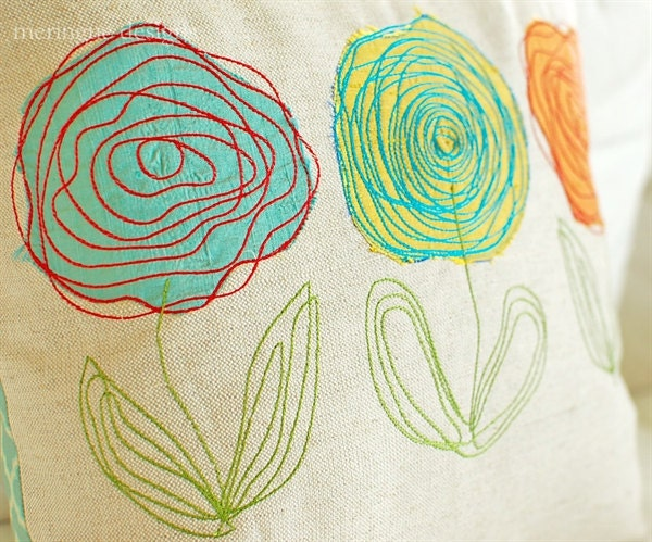 Scribbled Roses Machine Embroidery Designs