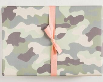 Camo Gift Wrap