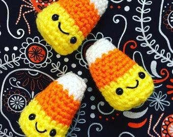 Candy Corn Cutie, plushie, candy plushie, stuffed toy