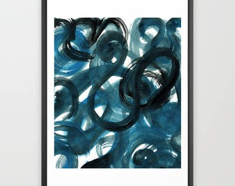 Abstract Printable Art. Modern art. Printable abstract art. Printable wall art. Abstract Poster Printable. Art print download