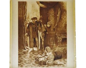 1900 Photogravure by CD Graves Lucrezia Borgia, Last act last scene