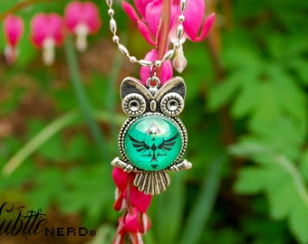 Legendary Crest Owl Necklace