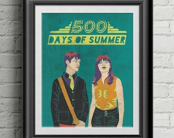 "500 Days of Summer 8""x10"" Print"