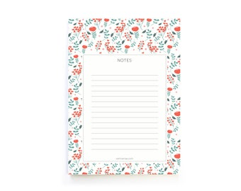 Memo notepad / A6 illustrated memo paper / Daily organisation / Grocery list / To do list