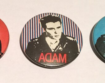 Adam Ant Vintage Badges