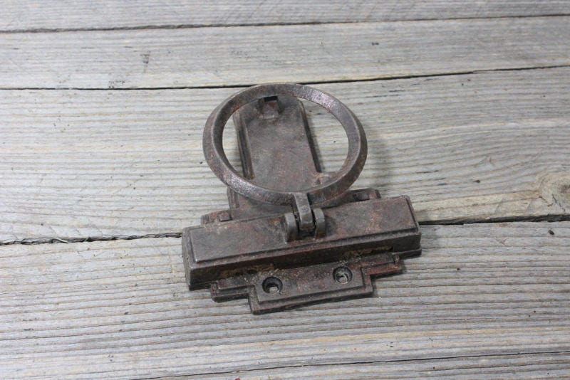 Get Shipping Estimate & Vintage Mission Style metal door knocker marked MCF iron mid ...