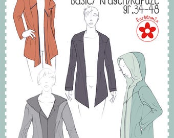 "Farbenmix pattern Cardigan ""Ana"""