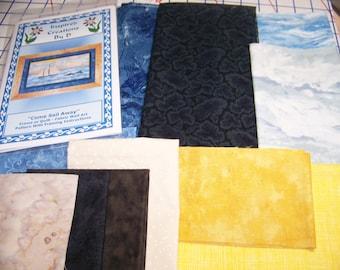 Come Sail Away Art Quilt Pattern Kit