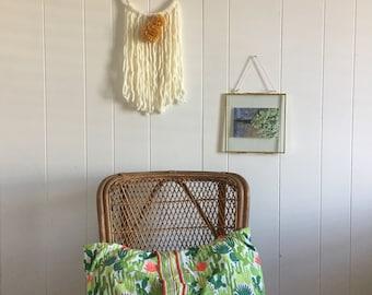 Handcrafted Hoop and Yarn Wall hanging
