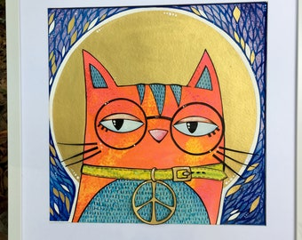 Saint Cat: Peace