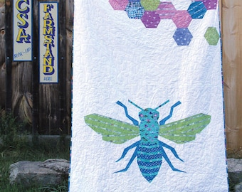 Queen Bee Quilt PDF Paper Piecing Pattern #15