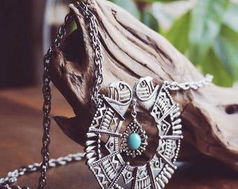 Metal Aztec Style Costume Jewellery