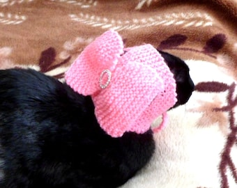 CAT CLOTHES.HAT with a bow.