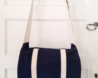 Standard Issue Messenger Bag- Navy