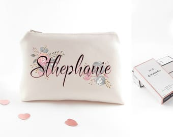 Custom bachelorette gift for hen party Personalized bachelorette party gift Wedding toiletry bag Customized bachelorette gift