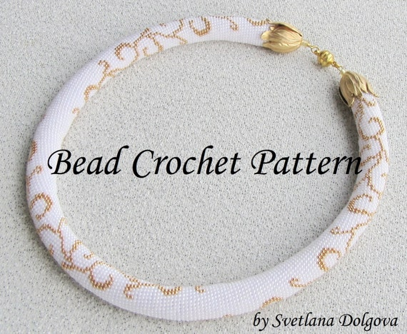 Beaded Crochet Necklace Pattern Images