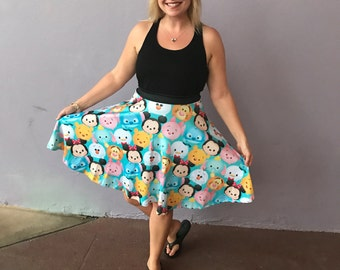 Tsum Tsum skirt inspired by the Japanese craze of stacking up the fun with my favorite characters!