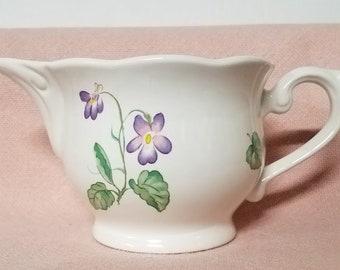 Lantana Fine China Lenox Spring Violets Pattern Creamer
