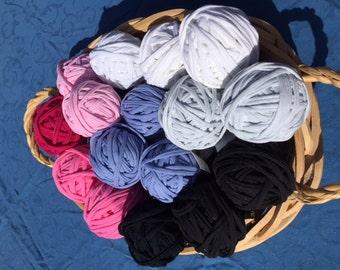 T-shirt Yarn, Recycled T-shirt Yarn