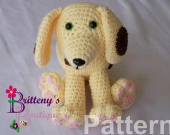 Dog Crochet Pattern Amigurumi Dog Crochet Patterns Amigurumi Dog Crochet Pattern Plush Dog Crochet Pattern Spots the Cute Puppy