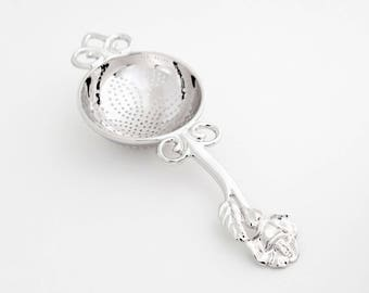 TITASY Platinum Tea Strainer [Rose, TS-13]