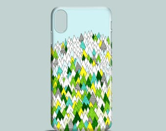Blooming Hills phone case, forest iPhone X, iPhone 8, iPhone 7, 7 Plus, iPhone SE, iPhone 6/6S, iPhone 5/5S / spring phone cover