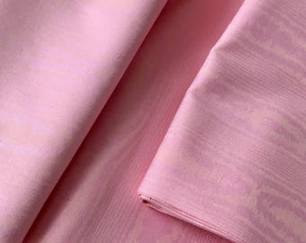 Quilt Cotton Fabric - Pink Cotton Fabric - 2 1/2 Yards Cotton Fabric - Quilt Cotton Fabric -Sewing Fabric -Taffeta Print Cotton Fabric