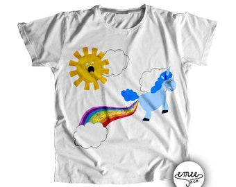 Baby Boy Clothes Coming Home Outfit Funny Baby Gift Unicorn Baby Shower