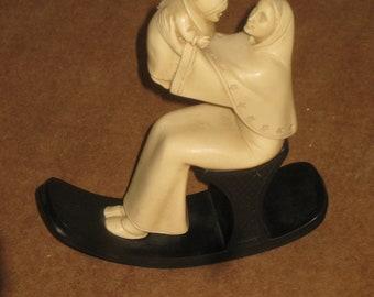 Mother with Child Figurine    [geo3895bt]