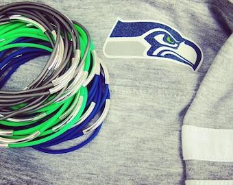 Seattle Seahawks Bracelet for Women Seahawk Team Jewerly Gifts for Football Fan