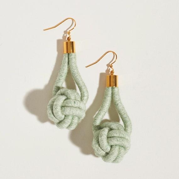 Monkey's Fist Earrings