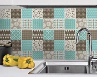 Portuguese Blue Tile Stickers Tile Decals Kitchen