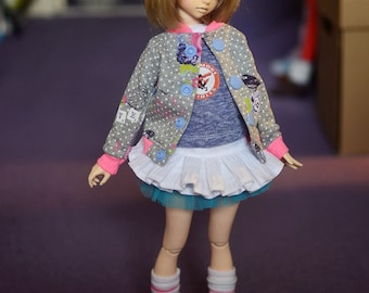 SALE **** Lovely jacket for MSD doll minifee etc four colours