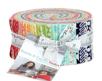 BONNIE and CAMILLE BASICS -Jelly Roll - 55023 - by Bonnie and Camille for Moda - Bonnie & Camille Favorite Hits- Classics