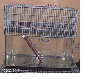 30 or 40 Breeder 1 Story Aquarium Cage Tank Topper gerbil rat hamster degu Top Door