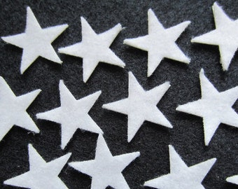 50-Mini Stars-Wax Dipping Stars-1 Inch Stars-Hair Accessories Decorations-Costume Embellishments-Bible Journaling-Planner Accessories