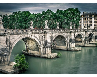 Roman Bridge - Art & collectible photo Giclee prints for home decor or gift suggestion for any occasion.